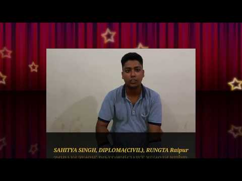 RUNGTA Raipur Student's Review | 3 | Prabhat Sir Classes EGBPS