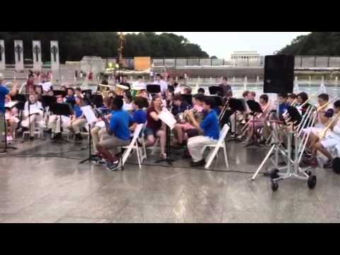 Benny Goodman, The King Of Swing, played by Blue Valley North High School Band