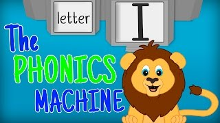 THE LETTER I SONGS - Phonics Song for Kids Alphabet Sounds PHONICS MACHINE ABC Sounds Preschool