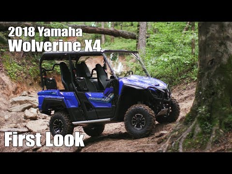 2018 Yamaha Wolverine X4 First Look