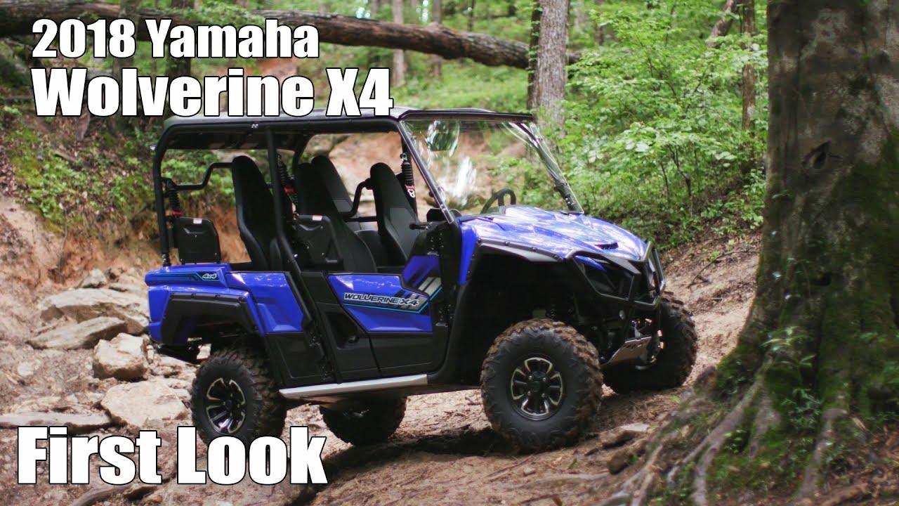 12bad5b82c6 2018 Yamaha Wolverine X4 First Look - YouTube