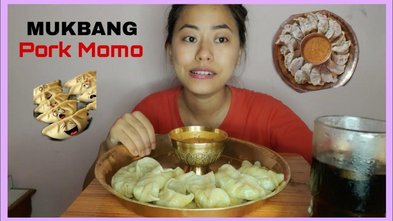 Download Pork Momo mukbang | Dumpling | REAL SOUND [MUKBANG]