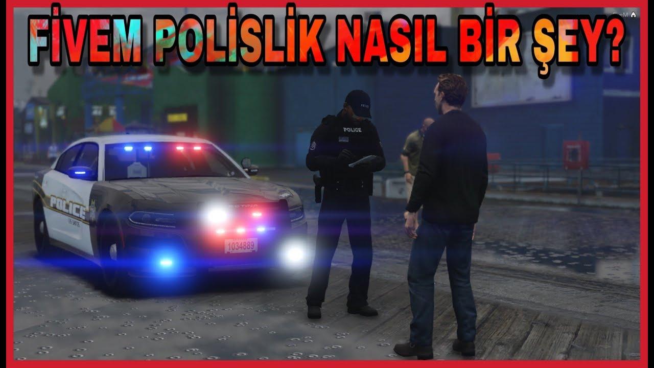 GTA V - FiveM Role Play - POLİSLİK NASIL OLUYOR? #NovaRolePlay