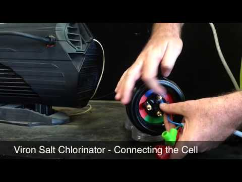 Viron Salt Chlorinator Connecting The Cell Youtube