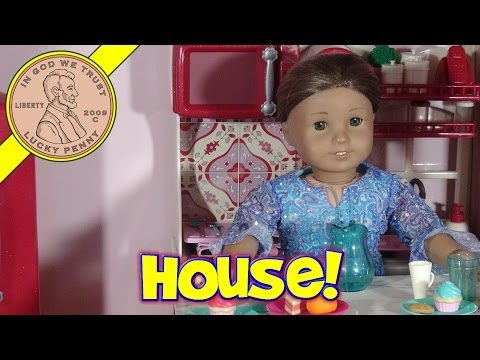 "My Girl Country French Doll House for 18"" Dolls! - American Girl Stop Motion"