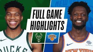 GAME RECAP: Knicks 130, Bucks 110