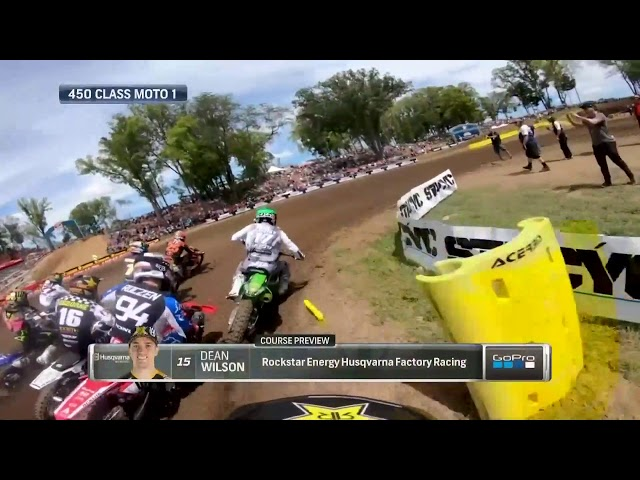 2019 Ironman National - 450 Moto 2 GoPro Course Preview