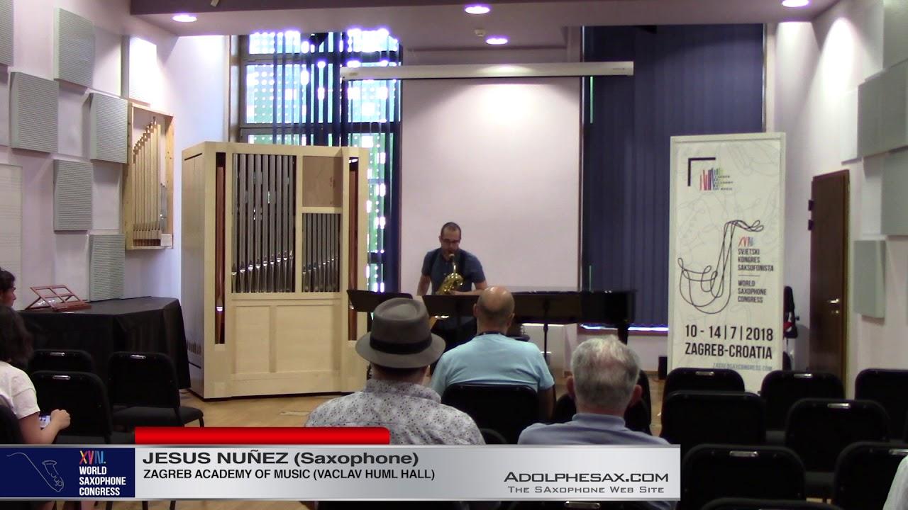 Rebote Rueda II by Juan de Dios Garcia Aguilera   Jesus Nun?ez  XVIII World Sax Congress 2018 #adolp