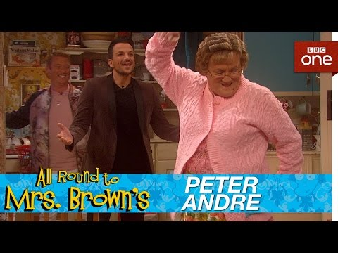 Thumbnail: Peter Andre catches Mammy - All Round to Mrs Brown's: Episode 5 - BBC One