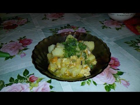 Рагу овощное в мультиварке поларис 0517