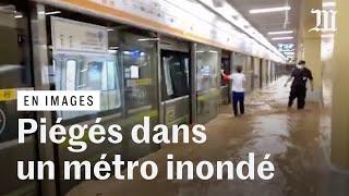 Piégés dans le métro : des pluies meurtrières balayent la métropole chinoise de Zhengzhou
