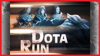 Играем в Dota RUN c Топ Ютюберами