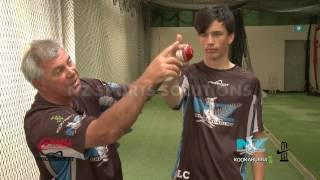 How to Bowl Finger Spin in Cricket - Grip Demonstration