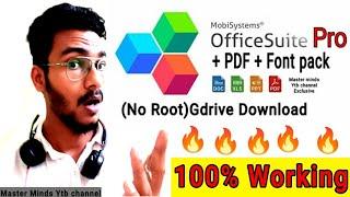 Office suite Pro + PDF apk latest version Gdrive Download screenshot 4