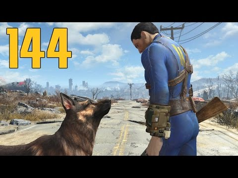 Fallout 4 - Part 144 - Mystery Meat! Eating GHOULS?!