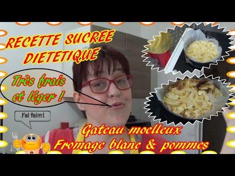 🚨--recette-sucree-dietetique---gateau-moelleux-aux-pommes-et-fromage-blanc-!---décembre-2019