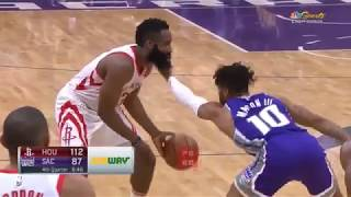 James Harden Gets Slapped By Frank Mason Gets Angry And Destroys Him! Rockets vs Kings