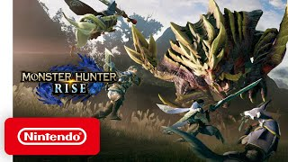 Monster Hunter Rise - Announcement Trailer - Nintendo Switch