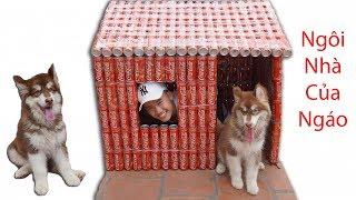 Hưng Troll   Làm Ngôi Nhà Coca Cola Cho Ngáo Alaska