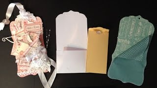 How to make tag pockets on and for tags