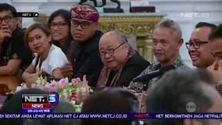 40 Seniman dan Budayawan Bertemu Presiden Jokowi NET5