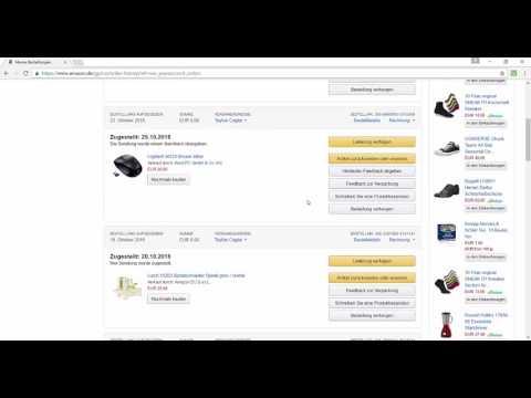 Amazon Produkt zurück senden