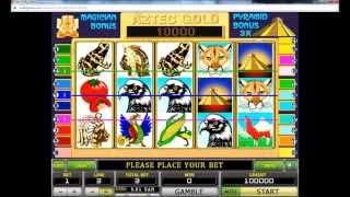 Игровой Автомат Aztec Gold -