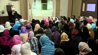 Gulshan-e-Waqfe Nau Nasirat, 19 April 2009, Educational class with Hadhrat Mirza Masroor Ahmad(aba)