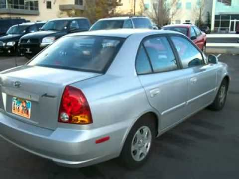2004 hyundai accent gl salt lake city ut b5692a youtube. Black Bedroom Furniture Sets. Home Design Ideas