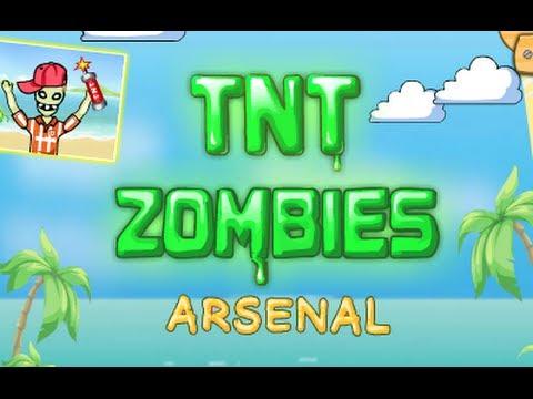 tnt zombies arsenal level 128 walkthrough youtube