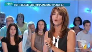 Lara Comi vs Diego Fusaro sui voucher: 'Il filosofo non è concreto, non dà soluzioni'
