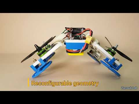 The Flying STAR robot, a hybrid flying crawling quadcopter robot