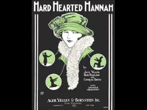 Dolly Kay - Hard Hearted Hannah (The Vamp From Savannah) 1924 Jazz Ragtime Songs