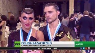 Телесюжет Russia Today Spain о Чемпионате Европы 2016 по ЛА танцам среди профессионалов