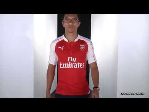 separation shoes e06c3 f10c4 PUMA Arsenal Authentic Home Jersey 15/16