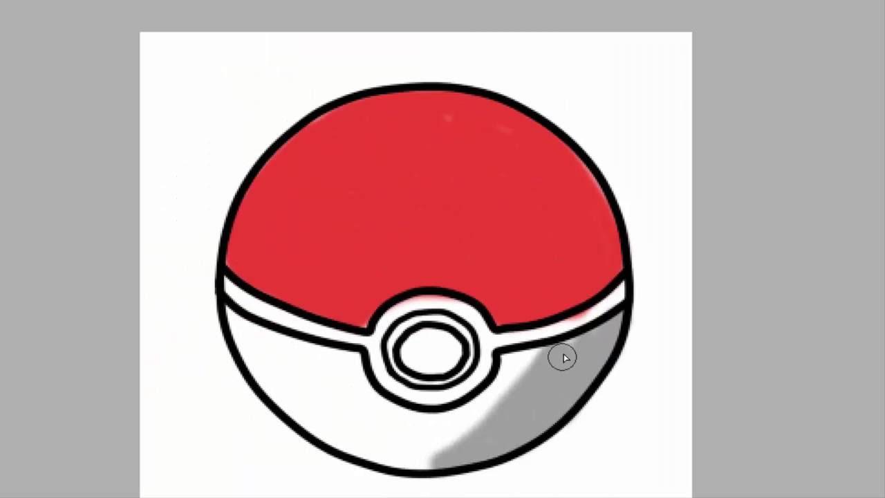 Pokemon Go Desenho Pokebola Youtube