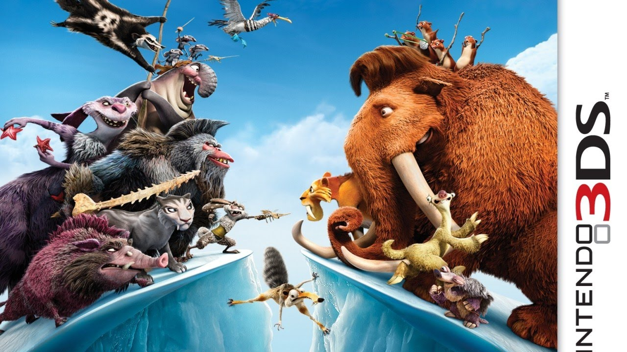 ice age continental drift arctic games gameplay (nintendo 3ds) [60