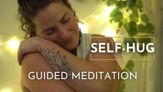 Boost your LOVE with this Self-Hug Guided Meditation! For relaxation and connecting your higher-self