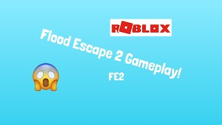 ROBLOX Flood Escape 2 GETTING THE RAINBOW NEON TANK!