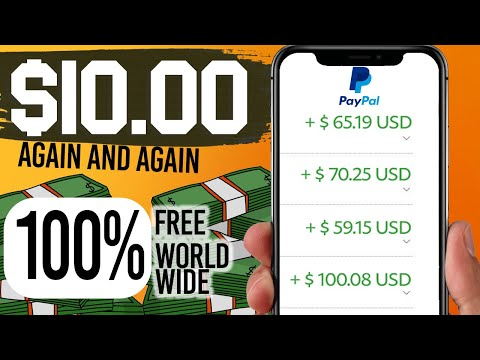 MAKE $10.00 Unlimited PayPal Money within 4 minutes! How To Earn Free PayPal Money 2021