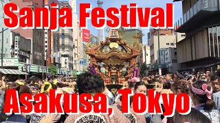 Sanja Matsuri, or Sanja Festival, in Asakusa, Tokyo [iPhone 6 Plus]