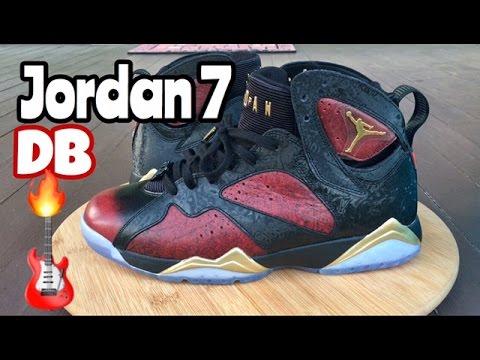 """Air Jordan 7 Retro DB """"Damien Phillips"""" review"""