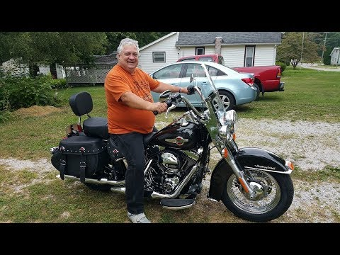Surprising Dad With A New 2017 Harley Heritage