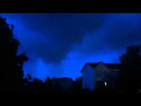 6/21/11 Romeoville, IL Storm