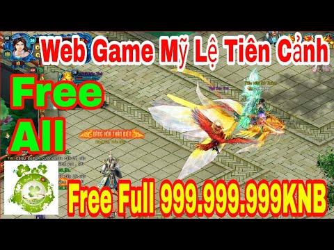 Web Game Private Mỹ Lệ Tiên Cảnh 2019 | Free Full All – Full VIP + Full 999.999.999KNB