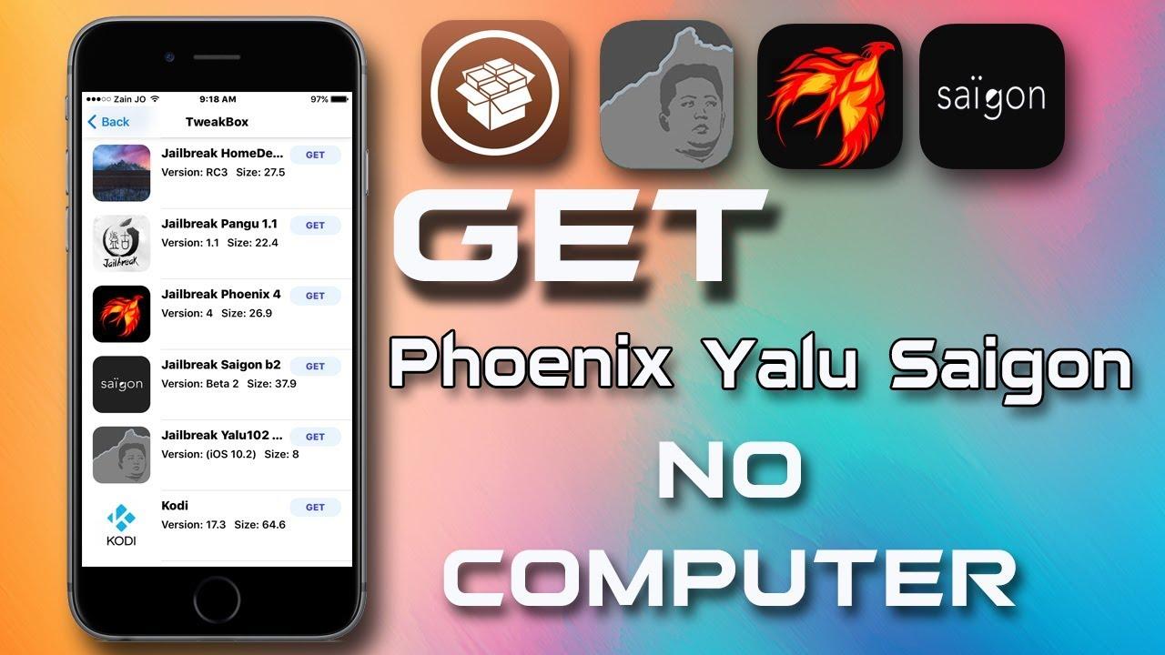 Phoenix Jailbreak Download No Computer