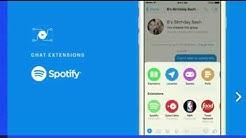 Facebook Messenger Chat Extension