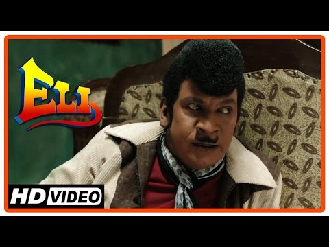 Eli Tamil Movie | Scenes | Vadivelu tries to collect evidences against Pradeep Rawat | Sadha
