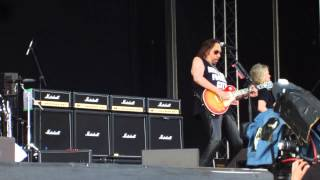 ACE FREHLEY Rip It Out + Deuce, Sweden Rock Festival 2015