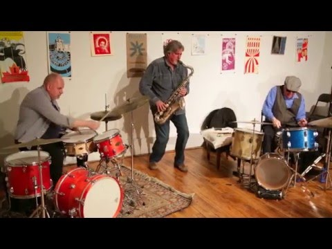 Tony Malaby / Randy Peterson / Billy Mintz - Not A Police State / Arts for Art, NYC - Jan 2016